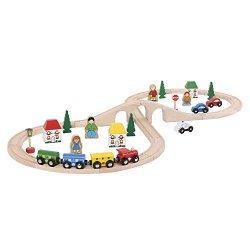 Bigjigs Rail Kit trenino con binario a forma di...