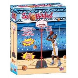 Grandi Giochi GG44001 - Basket con Piantana in...