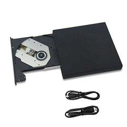 COWEEN Masterizzatore CD Esterno COMBO USB2.0...