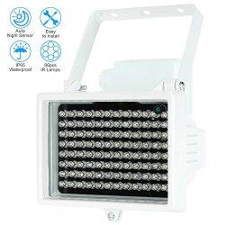 KKmoon 96 LED IR Illuminatore a Raggi Infrarossi...
