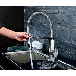 rubinetti cucina con molla
