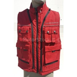 GILET OJ TRANSFORMER 2 in 1 TRAFORATO MULTITASCHE...