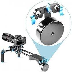 Neewer® Contrappeso in Lega di Alluminio di 2.5 lbs/1.1 kg per Supporto a Spalla con Binario da