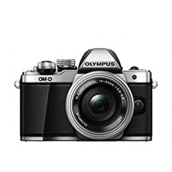 Olympus E-M10 Mark II Kit con Obiettivo M. Zuiko Digital ED 1442mm 1:3.55.6 EZ Pancake, Argento